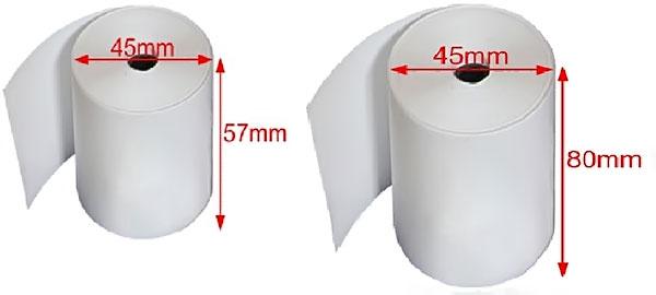 So sánh máy in bill khổ 80mm và 58mm