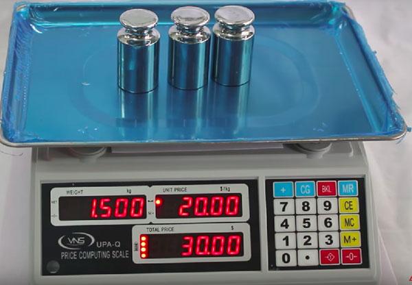 Cân điện tử UPA Q 30kg