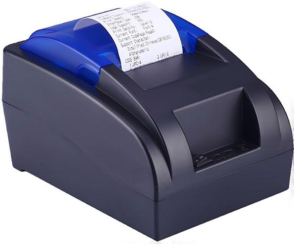 máy in hóa đơn không lên nguồn