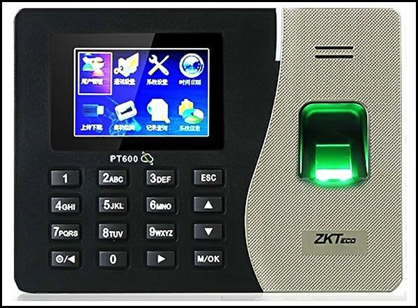 Máy chấm công vân tay & thẻ ZKT PT600