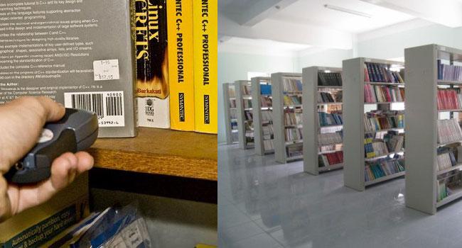 Máy quét mã vạch cho nhà sách, thư viện