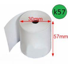 Giấy in nhiệt GiiN k57, Ø 30mm