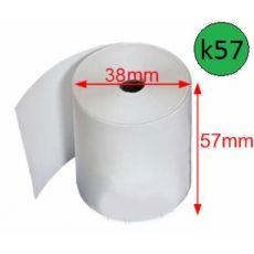 Giấy in bill nhiệt GiiN k57, Ø 38mm