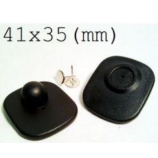 Tem từ cứng RF 41x35mm (gắn quần áo, túi xách, giày dép)