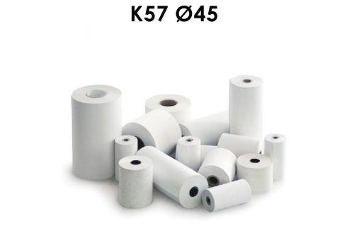 Giấy in bill GiiN k57 đường kính Ø 45mm